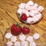 Low Carb Strawberry Cloud Candy