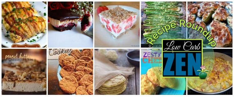 Week's Top Low Carb Recipes Roundup, from http://lowcarbzen.com