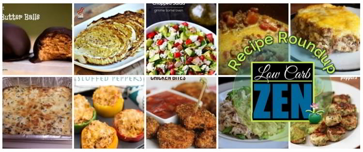 Great Low Carb Recipes Roundup