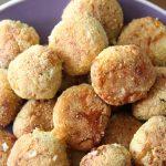 Garlic and Pesto Dough Balls