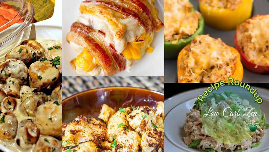 Favorite Low Carb Recipe Roundup