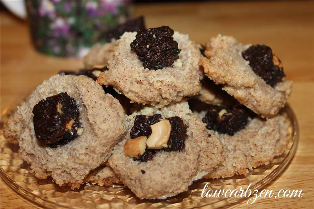 Chocolate Cashew Almond Cookies