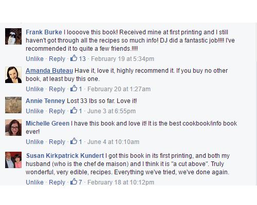 Low Carb Cookbook Reviews
