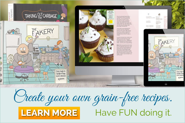 THE FAKERY by DJ Foodie. Create Your own grain free recipes. Have FUN doing it.