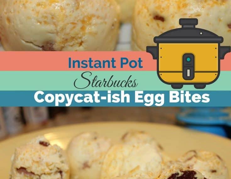 Instant Pot Egg Bites Starbucks Copycat