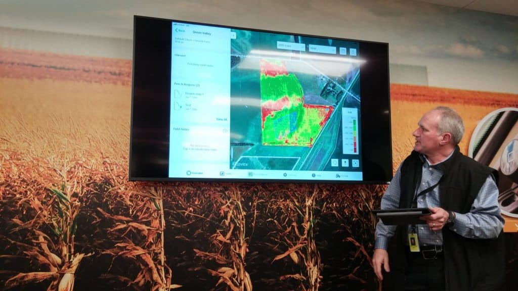 Climate View App at Monsanto