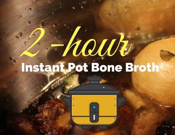 2-Hour Instant Pot Bone Broth 6