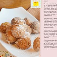 """Fried """"Blob"""" Donut Holes"""