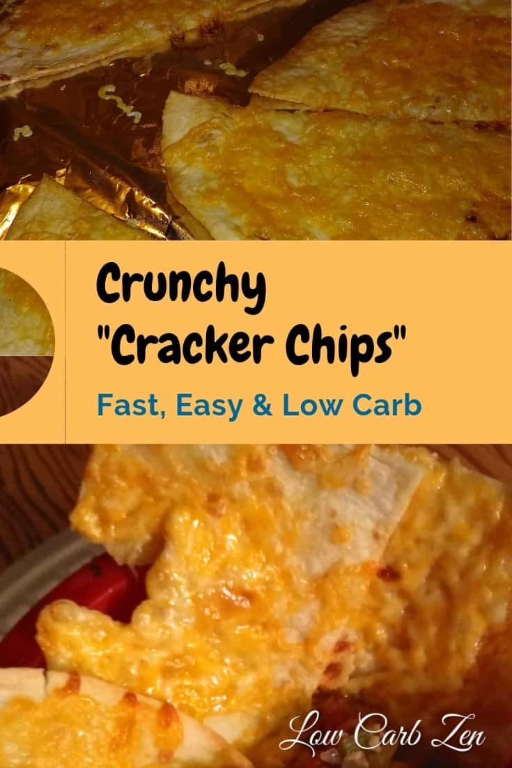 Crunchy Low Carb Cracker Chips