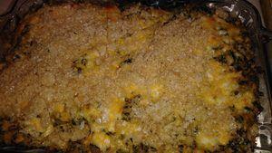 Ranch Chicken Dip Casserole