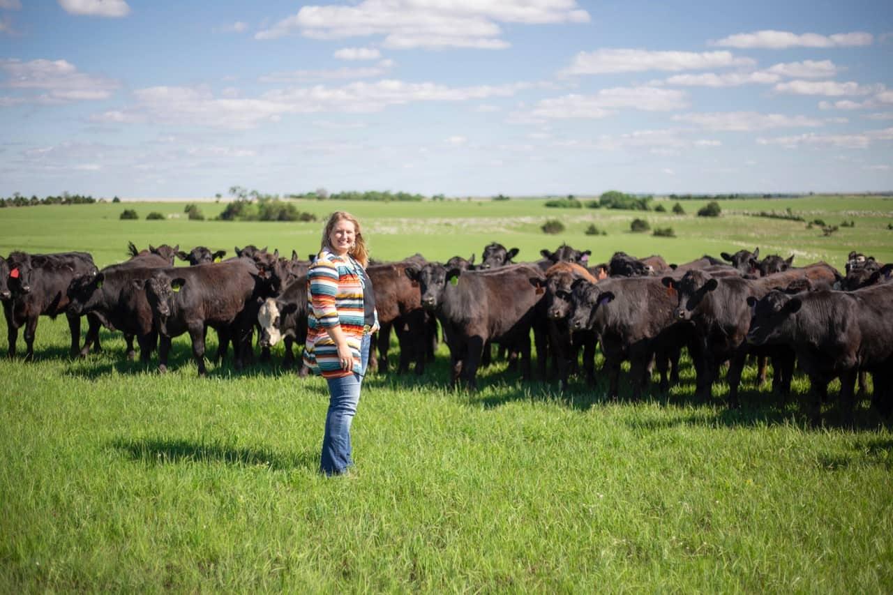 Bulk Buying Beef from Rancher Jacquelyne Leffler