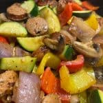 Chicken Sausage and Vegetable Skillet