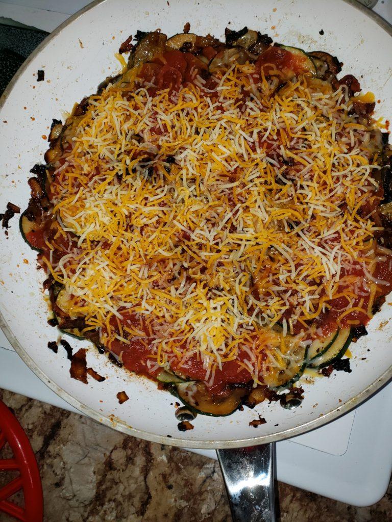 Super Easy Zucchini Bacon Casserole (Under 30 Minutes) 2