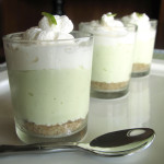 Lime Cheesecake Shooters