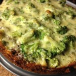 Keto Beef Broccoli Pie