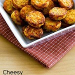 Low Carb Cheesy Baked Cauliflower Tots