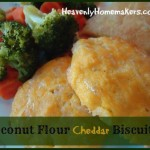 Coconut Flour Cheddar Biscuits